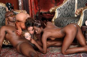 all black girl orgy