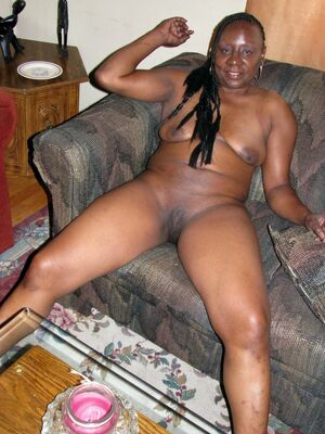 black wife naked