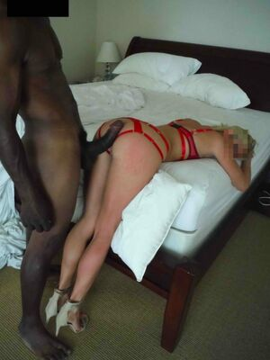 wife gets big black cock