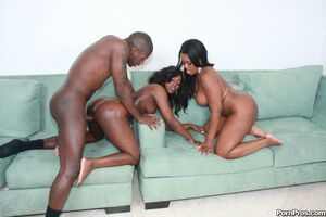 black girls riding black dick