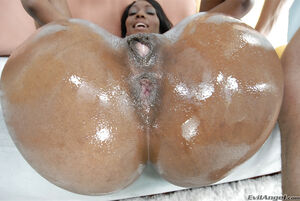 big black cock in her ass