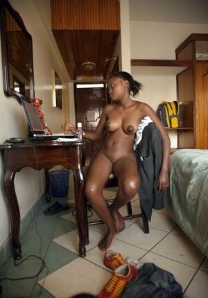 ebony gets facial