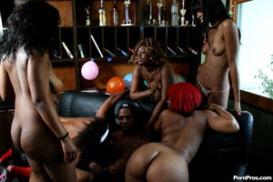 black stripper sex party